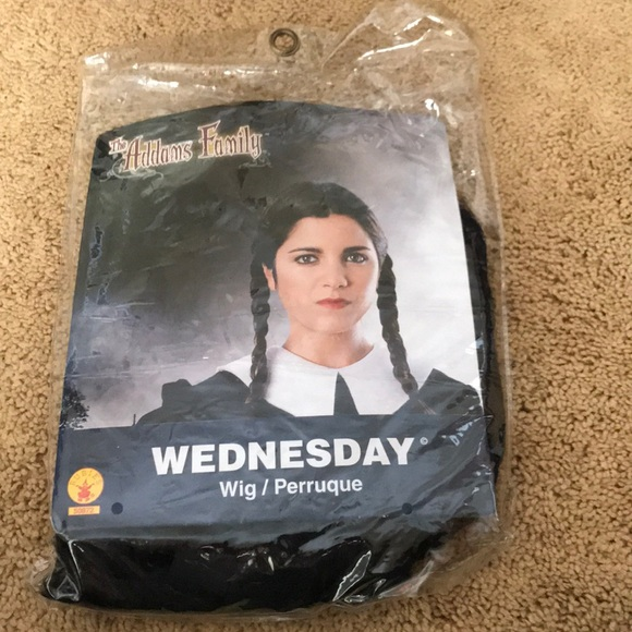 Wednesday Addams Wig